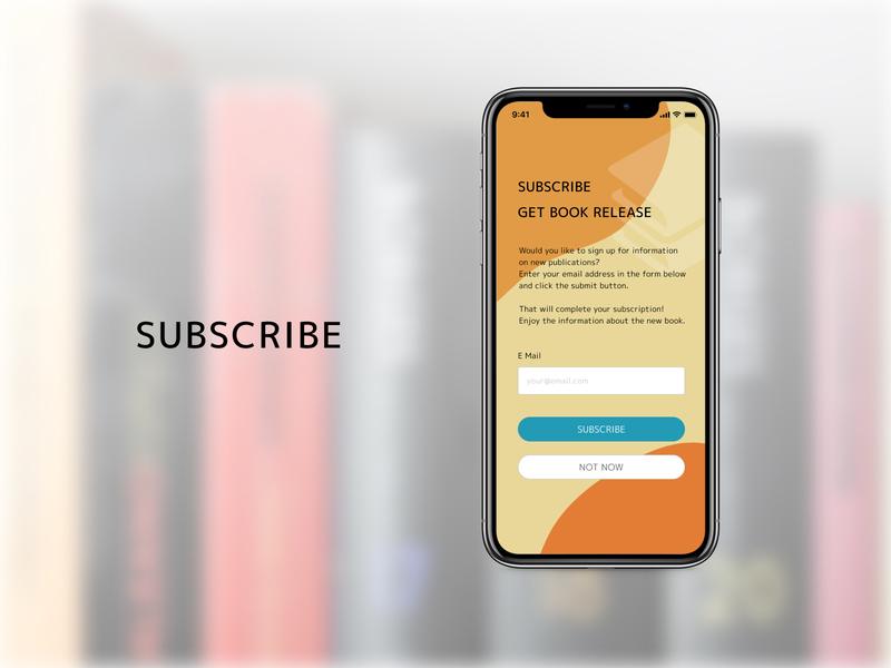 Daily UI Challenge 026 : Subscribe ui design dailyui026 daily 100 challenge dailyui