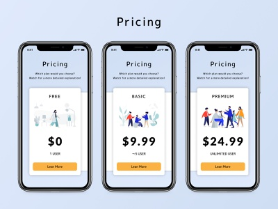 Daily UI Challenge 030 : Pricing dailyui030 design daily 100 challenge ui dailyui