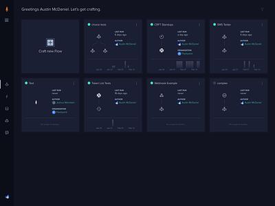 Automation Dashboard datavisualization dashboard dark cybersecurity