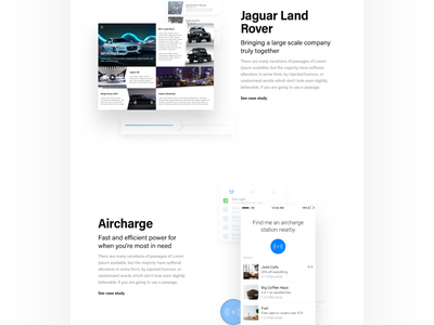 Webfolio stuff 🤷🏻♂️ widgets clean webfolio portfolio web ux ui