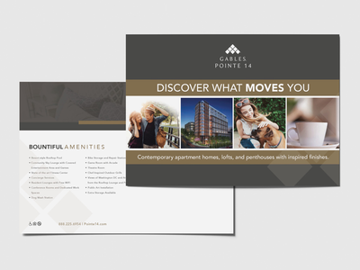 Direct Mailer for Multi Family Housing