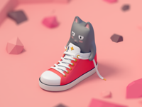 OneFootCat - Game Concept