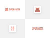 Zip And Bounce Logo Concept 2