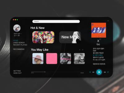 Dailyui009-Music Player