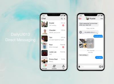 Dailyui013-Direct Messaging