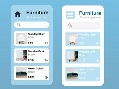 DailyUI 030 Pricing mobile dailyui daily 100 challenge mobile app furniture app pricing page pricing price daily ui dailyui30 dailyui030