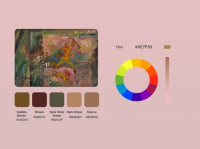 DailyUI 060 - Color Picker
