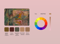DailyUI 060 - Color Picker