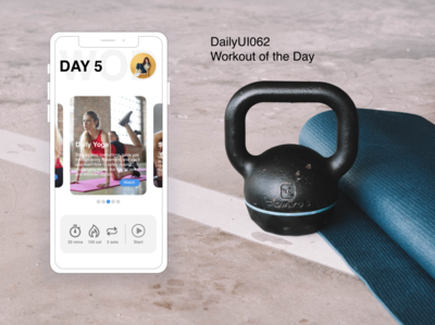 Dailyui062 Workout of the Day