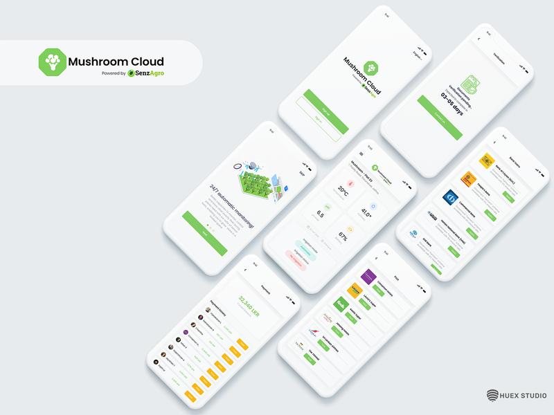 SenzAgro Mushroom Cloud - Farming App