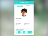 Daily UI #007 – Settings Page