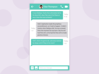Daily UI #013 – Direct Messaging