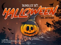 Halloween Bundle set