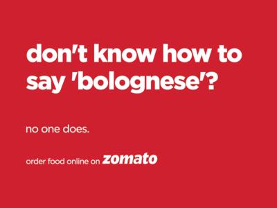 Boh-lo-knees? Bolo-nyeze? 🍝 flat marketing branding app vector pasta hoarding billboard ad design logo illustration