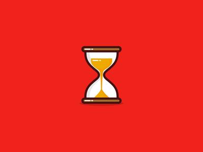 Quick hourglass illustration ⌛
