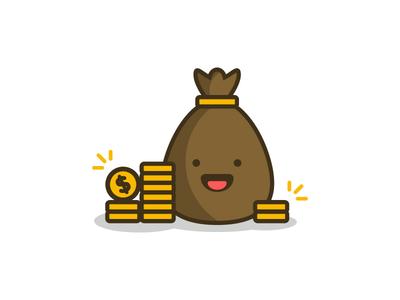 Money Bag Illustration 💰💰💰
