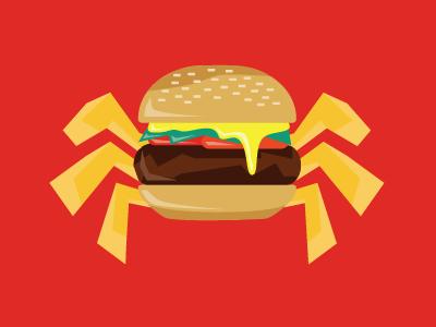 Burgah logo illustration