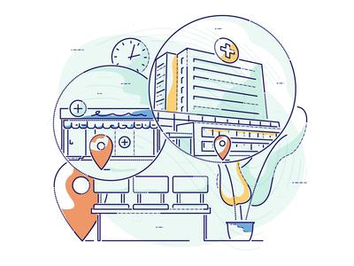 Medical locations