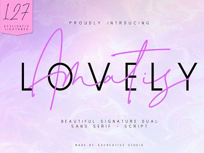 Lovely Amatis sublimation subliminal font duo monoline font design fontdesign typedesigner design branding minimal logo handlettering modern