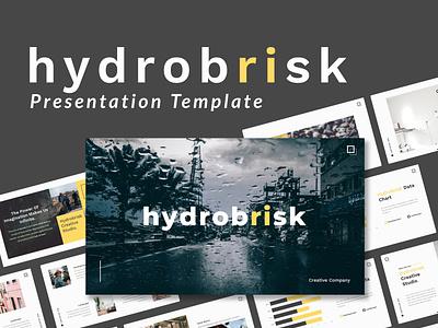 Hydrobrisk - Creative Presentation Template photography studio pitchdeck startup clean simple modern company corporate agency portfolio business creative