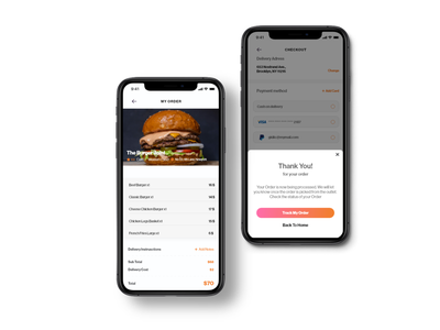Food Ui Kit Mockup