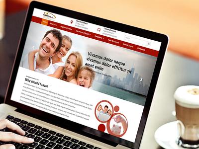 Namfisa website design