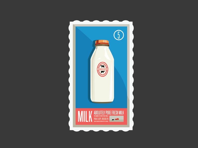 Milk Stamp stamp milk weird dont know whatever cool