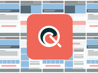 Quixand ios icon and wireframes