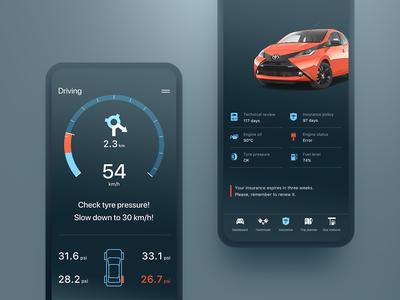 Car Insights App through OBDII