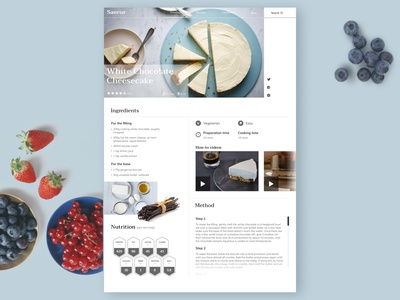 Dessert Recipe Page