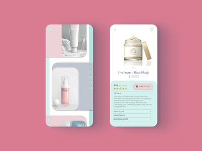 Skincare Shopping App