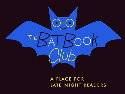 The Bat Book Club book bat illustration