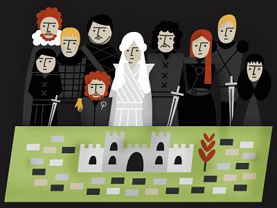 Game of Thrones fanart illustration got gameofthrones