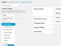 WordPress Live Widget Search Filter