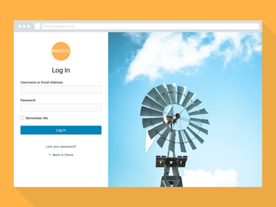 Easy Login Page for WordPress form login form login page login wordpress plugin wordpress login page wordpress freebies free