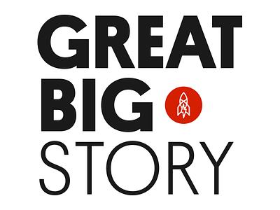 Great Big Brand Evolution media redesign evolution design type branding