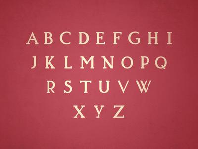 Typeface Progress