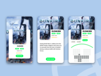 Film Ticket Booking App UI