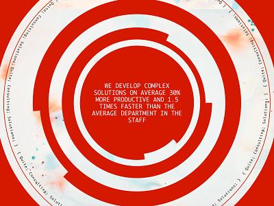 QuiteByte IT company quote page minimal branding website web uxui ux ui typogaphy fashion design