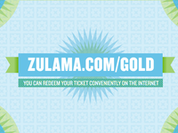 Zulama Ticket Back