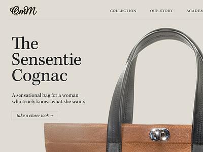 OmM Homepage webdesign redesign