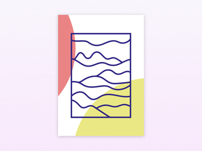 Doodeling work in progress print illustration onoyoko