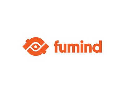 F – Mark typography logo