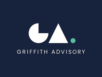 Griffith Advisory board advisor advisory executive coach period shapes geometric logo consulting