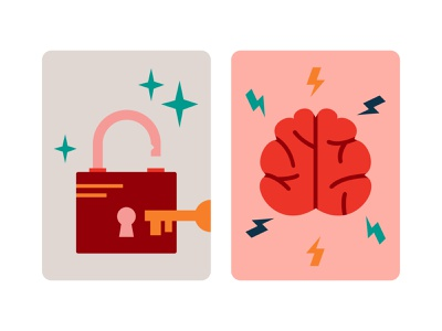 Pinterest Illustration 03 pins pinterest think brain creative brainstorm now opportunities key potential unlock
