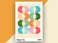 California Travels Poster Series - King City