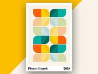 California Travels Poster Series - Pismo Beach (ALT)