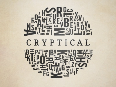 Cryptical typography vector texture blog web art tyson reeder the new blk