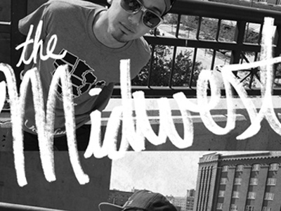 Midwest above zero clothing midwest texture typography sharpie no coast reeder design omaha