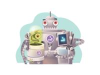 Robo hackers